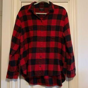 Madewell Oversized Buffalo Check Flannel